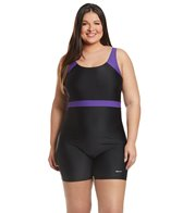 sporti-plus-size-unitard-colorblock-one-piece-swimsuit