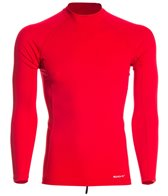 Sporti Men's Solid L/S UPF 50+ Sport Fit Rash Guard
