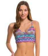 Jessica Simpson Swimwear Bali Breeze Cropped Cami Bralette Bikini Top