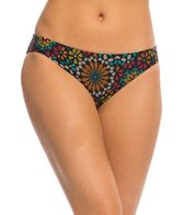 Coco Rave Swimwear Sparkly Medallion Coastline Classic Bikini Bottom