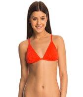 Bikini Lab Swimwear Desert Rows Triangle Bikini Top