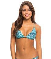 Sofia Laguna Crossed Back Triangle Bikini Top