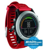 Garmin fenix 3 Multi-Sport GPS Watch Performer with HR Strap Bundle