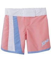 Platypus Girls' UPF 50+ Seashells Long Boardshort (18mos-8yrs)