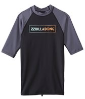 Billabong Men's All Day Raglan Short Sleeve Surf Tee