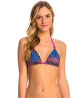 Hurley Sunset Palms Reversible Triangle Bikini Top