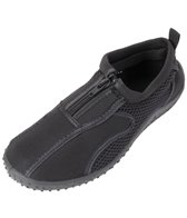Rockin Footwear Kids' Aqua Neon Zipper Water Shoes