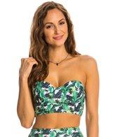 Kingdom & State Palms Crop Bikini Top