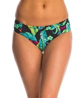 Seafolly Jungle Out There Ruched Side Retro Bikini Bottom