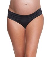 Prego Maternity Swimwear Roll Waist Bikini Bottom