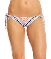 Roxy Boho Reversible Tie Side Scooter Bikini Bottom