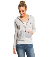 Roxy LA Calling For Waves Zip Up Hoodie