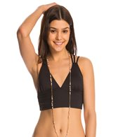 Quintsoul Swimwear Solid Essentials Triangle Bustier Bikini Top