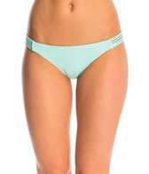 Quintsoul Swimwear Solid Essentials Braided Bikini Bottom