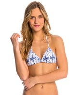 Quintsoul Swimwear Ink & Water Triangle Bikini Top
