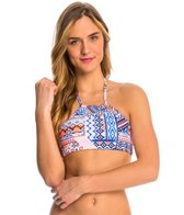 Quintsoul Swimwear Festival High Neck Crop Bikini Top