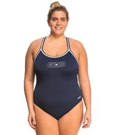 Dolfin Lifeguard Plus Size DBX Back One Piece Swimsuit