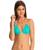 B.Swim Mixer Beachy Push Up Triangle Bikini Top
