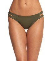 Vince Camuto Swimwear Fiji Solid Strap Side Bikini Bottom