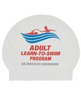 usms-learn-to-swim-latex-swim-cap