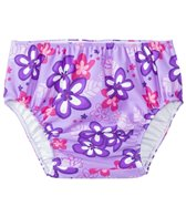 Tuga Girls' UPF 50+ Plumeria Passion Swim Diaper (3mos-4T)