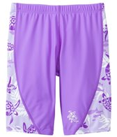 Tuga Girls' UPF 50+ Turtle Paradise Swim Jammer (2yrs-14yrs)