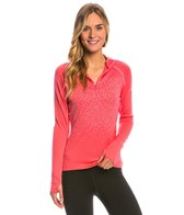 Adidas Women's 1/2 Zip Long Sleeve