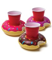 Big Mouth Toys Inflatable Pool Party Beverage Boats: Donut (3 pack)