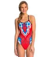 Triflare Women's USA Beauty One Piece Swimsuit