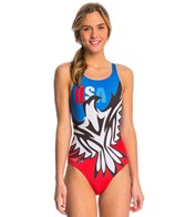 Triflare Women's Freedom Eagle Blade Back 1 Piece