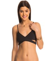 L-Space Swimwear Sensual Solids Rocky Wrap Bikini Top