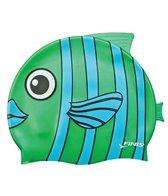 FINIS Emerald Fish Swim Cap