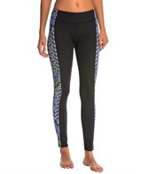 Mara Hoffman Yoga Rugs Combo Yoga Panel Leggings