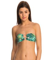 Roxy Swimwear Jungle Fever Strappy Bandeau Bikini Top