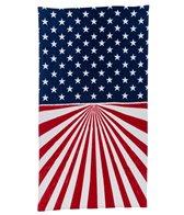 Dohler Vintage American Flag Beach Towel 40 x 70