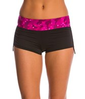 TYR Women's Cadet Della Boyshort Bottom