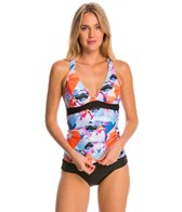 Next Palm Pop Superwoman Tankini Top