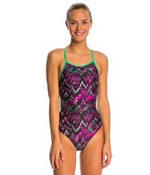 The Finals Fun House Flutter Back One Piece Swimsuit
