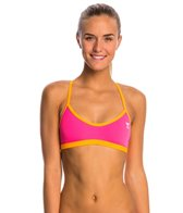 TYR Solid Crosscutfit Tieback Bikini Swimsuit Top