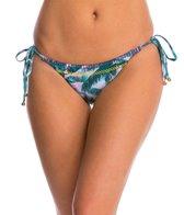 PilyQ Swimwear Mai Tai Stiched Reversible Bikini Bottom