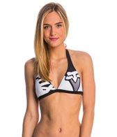 FOX Swimwear Shiv Fixed Halter Bikini Top