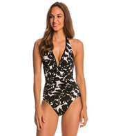 Magicsuit by Miraclesuit Magnolia Blossom Kara Halter One Piece Swimsuit