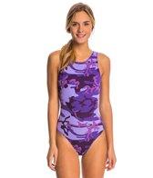 Sporti Women's Modern Camo Water Polo One Piece Suit