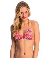 Luli Fama Swimwear Song of The Sea Braided Triangle Bikini Top