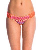 Luli Fama Swimwear Song of the Sea Braided Hipster Bikini Bottom