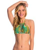 Luli Fama Swimwear Moon Princess Halter Bikini Top