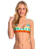 Luli Fama Swimwear Ocean Whispers Criss-Cross Bikini Top
