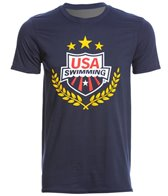 USA Swimming Men's All-Star Crew Neck T-Shirt