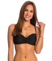 Helen Jon Solid Twist Underwire Bikini Top (D Cup)