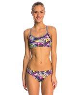 Dolfin Uglies Flashback Workout 2-Piece Bikini Swimsuit Set